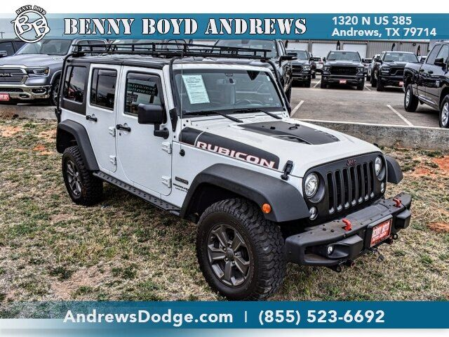 2018 Jeep Wrangler JK Unlimited Rubicon 4X4 Andrews TX