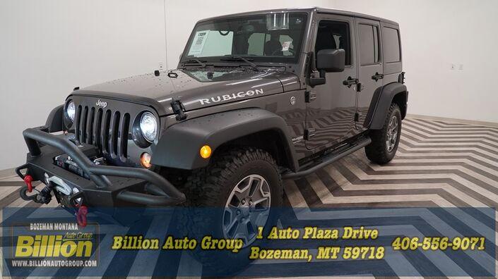 2018 Jeep Wrangler JK Unlimited Rubicon Bozeman MT