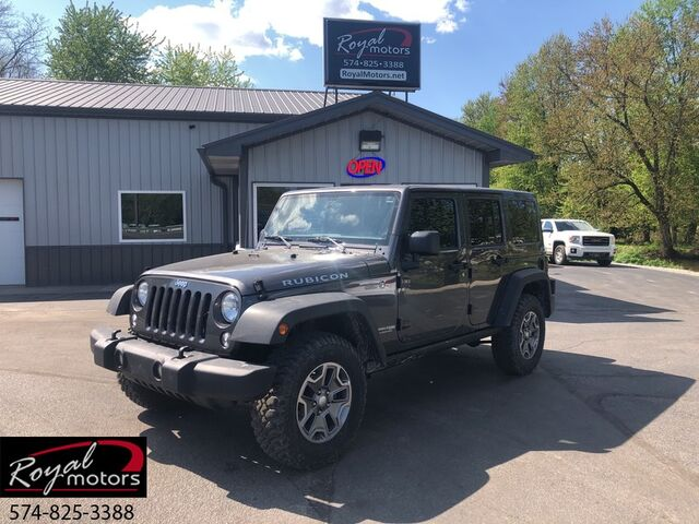 2018 Jeep Wrangler JK Unlimited Rubicon Middlebury IN