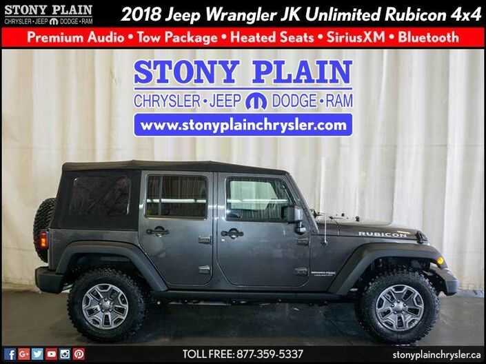 2018 Jeep Wrangler JK Unlimited Rubicon Stony Plain AB