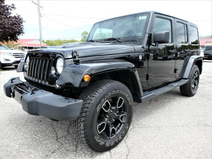 2018 Jeep Wrangler JK Unlimited Sahara | Navigation | Heated Seats | Remote Start Essex ON