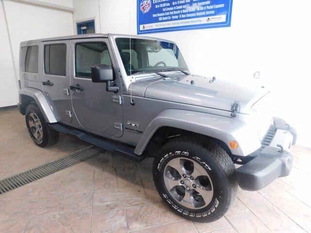 2018 Jeep Wrangler JK Unlimited Sahara 4x4 NAVI Listowel ON