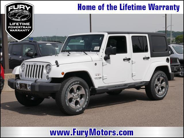 2018 Jeep Wrangler JK Unlimited Sahara 4x4 St. Paul MN