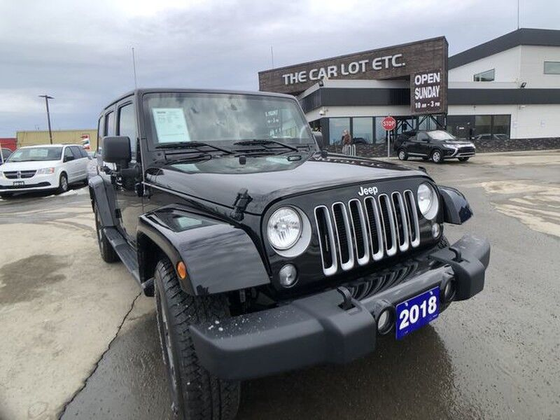 2018 Jeep Wrangler JK Unlimited Sahara AWD Previous Daily Rental Greater Sudbury ON