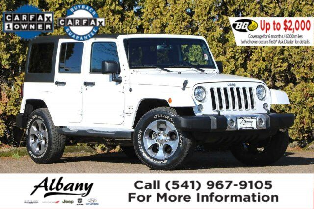 2018 Jeep Wrangler JK Unlimited Sahara Albany OR