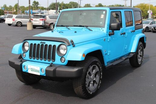2018 Jeep Wrangler JK Unlimited Sahara Fort Wayne Auburn and Kendallville IN