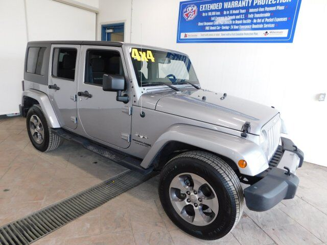 2018 Jeep Wrangler JK Unlimited Sahara Listowel ON