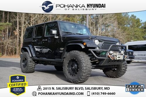 2018_Jeep_Wrangler JK_Unlimited Sahara **ONE OWNER**_ Salisbury MD