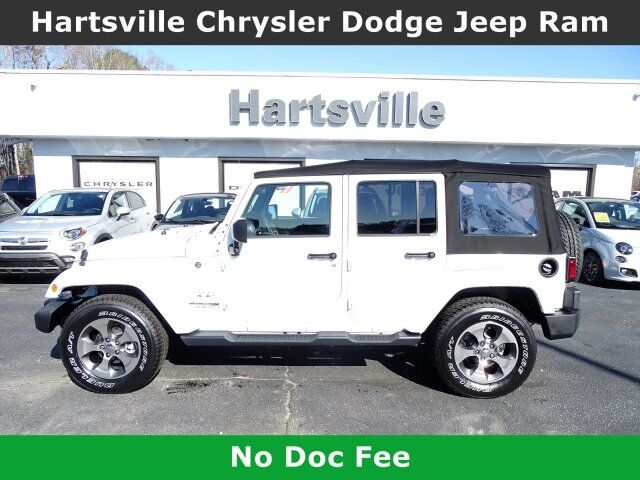 2018 Jeep Wrangler JK Unlimited Sahara Raleigh NC