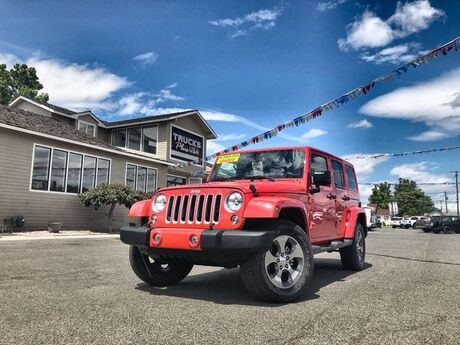 2018 Jeep Wrangler JK Unlimited Sahara Yakima WA