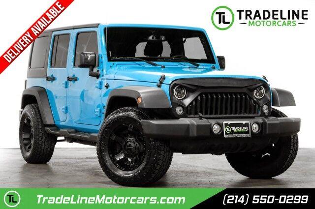 2018 Jeep Wrangler JK Unlimited Sport CARROLLTON TX