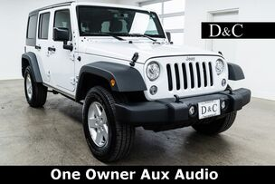2018 Jeep Wrangler JK Unlimited Sport One Owner Aux Audio