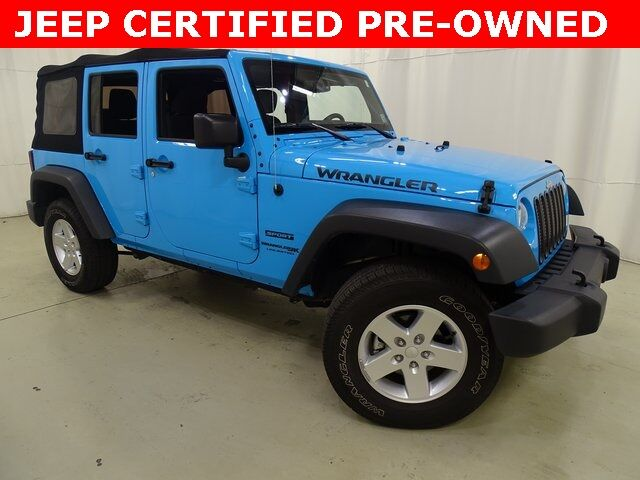 2018 Jeep Wrangler JK Unlimited Sport Raleigh NC
