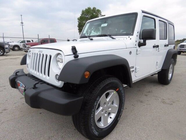 2018 Jeep Wrangler JK Unlimited Sport S Wichita Falls TX