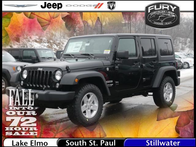 2018 Jeep Wrangler JK Unlimited Sport S 4x4 St. Paul MN