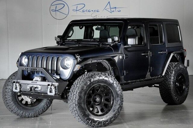 2018 Jeep Wrangler JL Unlimited 24S Pkg We Finance The Colony TX