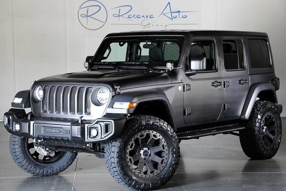 2018_Jeep_Wrangler JL_Unlimited Custom Paint Nationwide Finance_ The Colony TX
