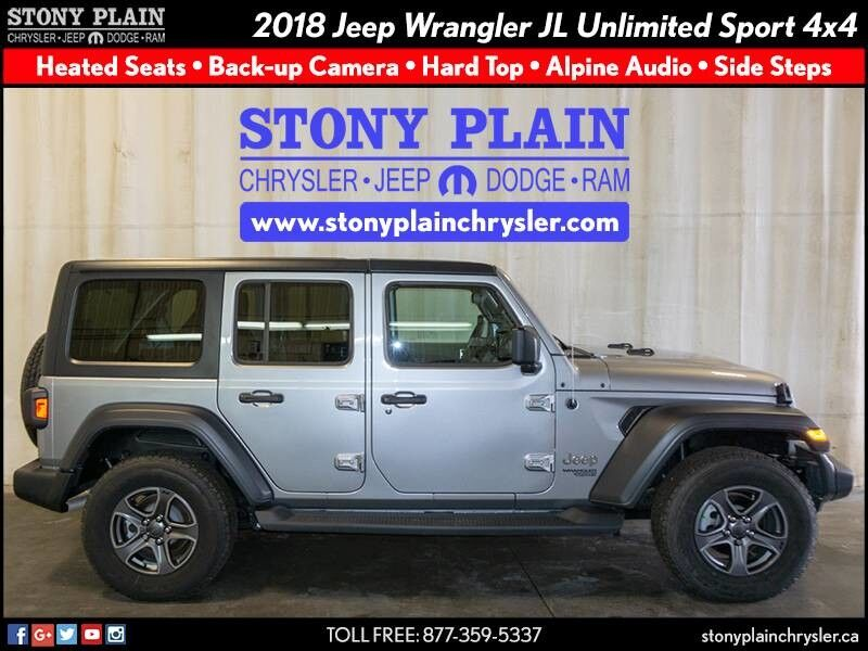 2018 Jeep Wrangler JL Unlimited Sport