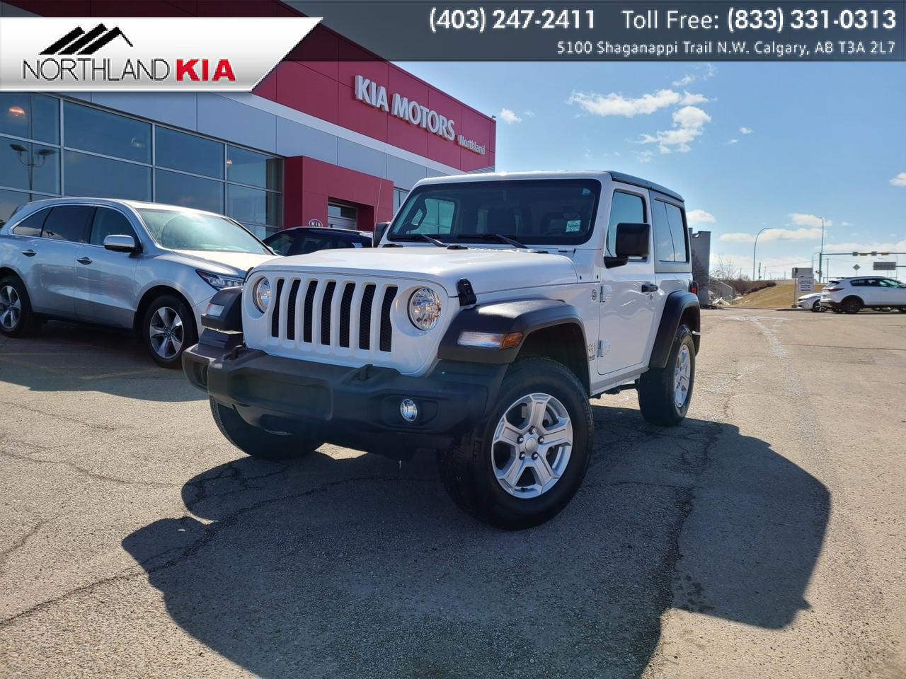 2018 Jeep Wrangler Sport 4X4, 3.6L, HEATED SEATS, BACKUP CAMERA Calgary AB
