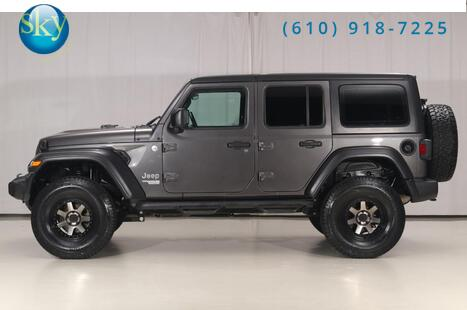 Jeep Wrangler Unlimited 4WD Sport LIFTED 2018