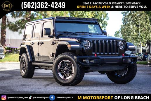 2018 Jeep Wrangler Unlimited All New Rubicon Sport Utility 4D Long Beach CA