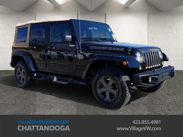 2018 Jeep Wrangler Unlimited Golden Eagle Chattanooga TN