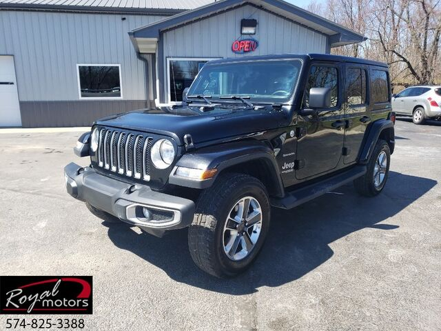 2018 Jeep Wrangler Unlimited JL Sahara Middlebury IN