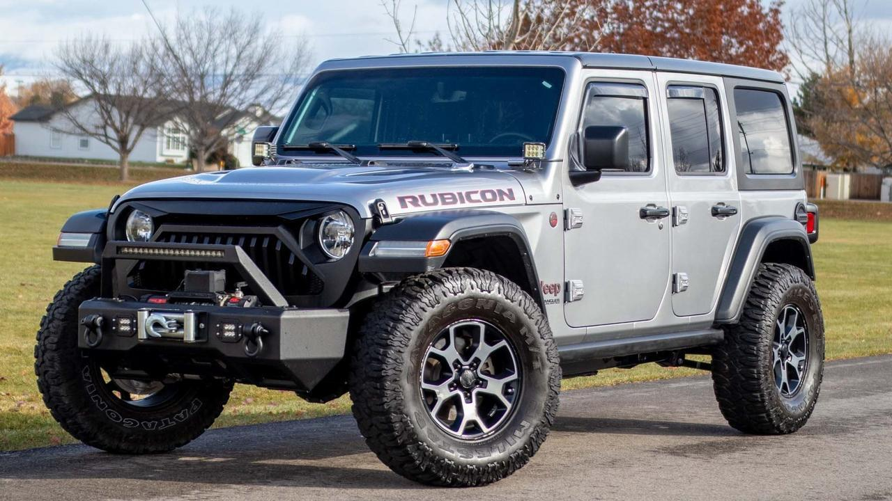 2018 Jeep Wrangler Unlimited Rubicon Boise ID