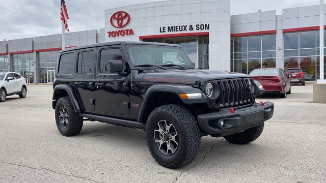 2018 Jeep Wrangler Unlimited Rubicon Green Bay WI