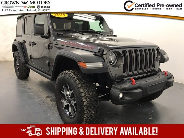 2018 Jeep Wrangler Unlimited Rubicon Holland MI
