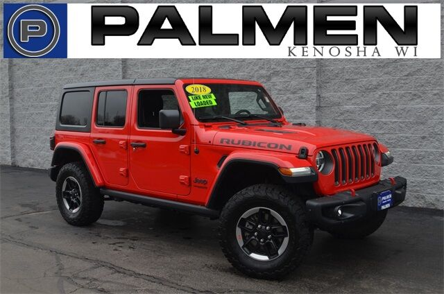 2018 Jeep Wrangler Unlimited Rubicon Kenosha WI