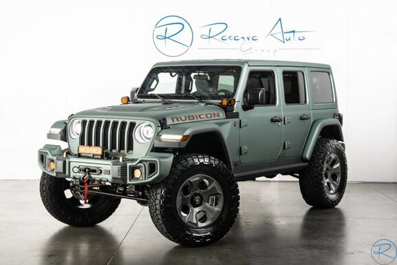 2018_Jeep_Wrangler Unlimited_Rubicon SEMA Show Vehicle BUCKSHOT Edition_ The Colony TX