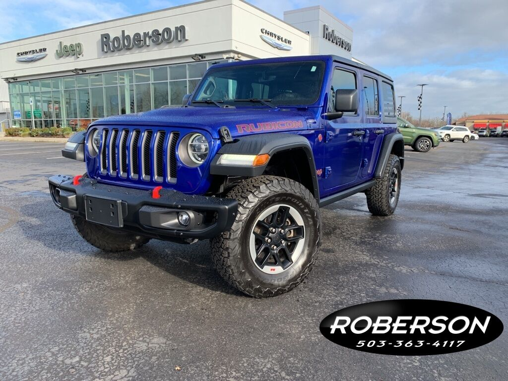 2018 Jeep Wrangler Unlimited Rubicon Salem OR