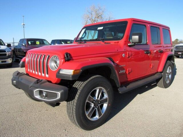 2018 Jeep Wrangler Unlimited Sahara Wichita Falls TX