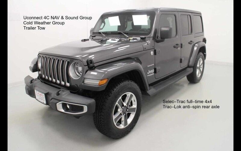 2018 Jeep Wrangler Unlimited Sahara 4X4 Bonner Springs KS