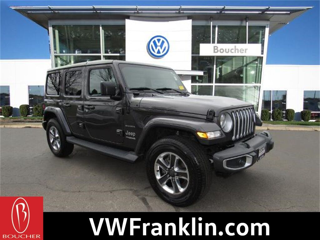 2018 Jeep Wrangler Unlimited Sahara 4X4 Franklin WI