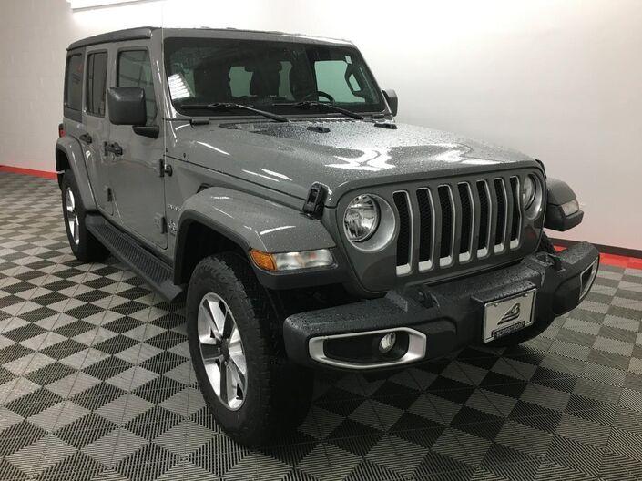 2018 Jeep Wrangler Unlimited Sahara 4x4 Appleton WI