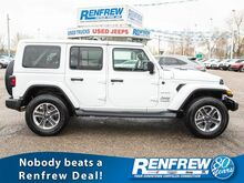 2018_Jeep_Wrangler Unlimited_Sahara 4x4, Nav, Remote Start, Backup Camera, Bluetooth, SiriusXM_ Calgary AB