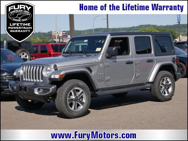 2018 Jeep Wrangler Unlimited Sahara 4x4 St. Paul MN
