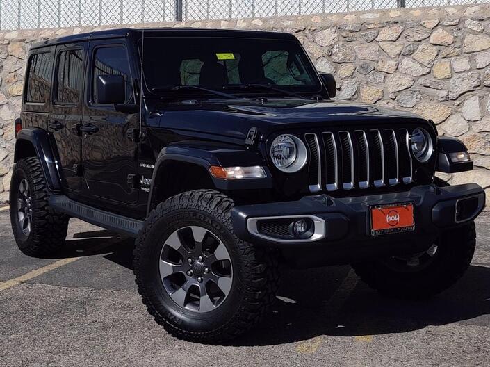 2018 Jeep Wrangler Unlimited Sahara El Paso TX