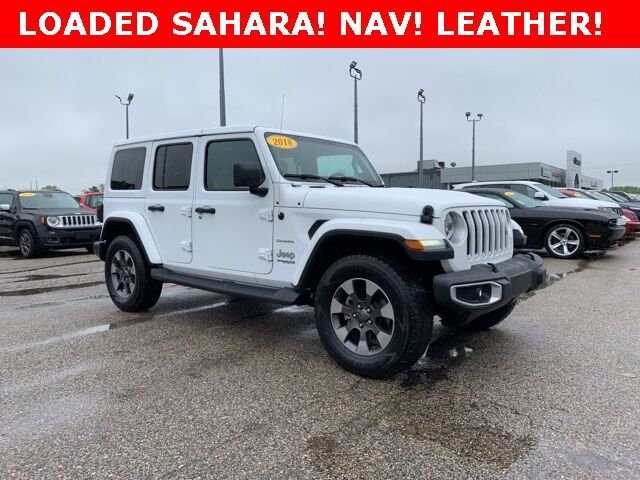 2018 Jeep Wrangler Unlimited Sahara Holland MI