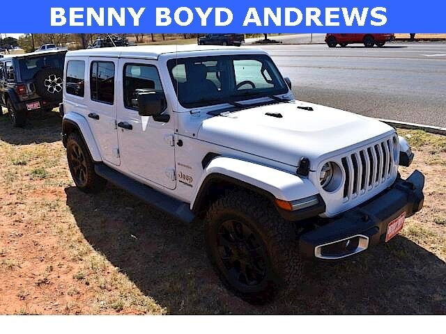2018 Jeep Wrangler Unlimited Sahara Andrews TX