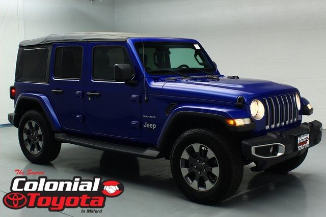 2018 Jeep Wrangler Unlimited Sahara Milford CT
