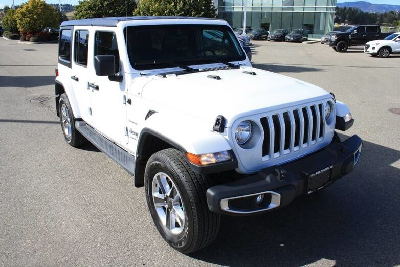 2018 Jeep Wrangler Unlimited Sahara One owner, No accident, Low kms Kelowna BC