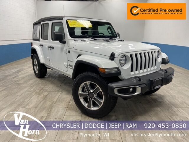 2018 Jeep Wrangler Unlimited Sahara Plymouth WI