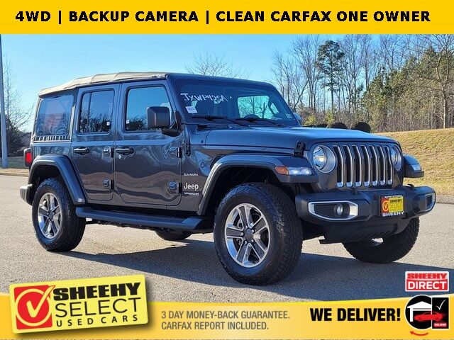 2018 Jeep Wrangler Unlimited Sahara Ashland VA
