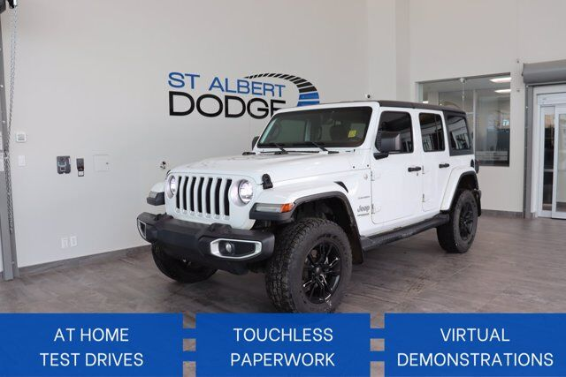 2018 Jeep Wrangler Unlimited Sahara St. Albert AB