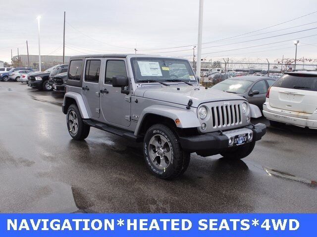 2018 Jeep Wrangler Unlimited Sahara Mansfield OH