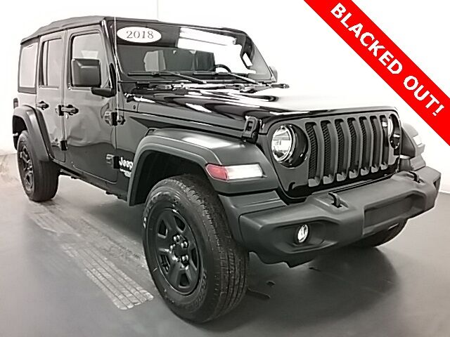 2018 Jeep Wrangler Unlimited Sport Holland MI