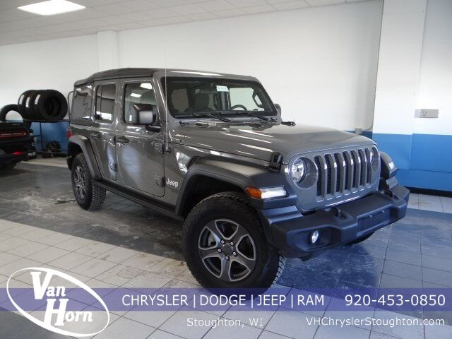 2018 Jeep Wrangler Unlimited Sport Plymouth WI